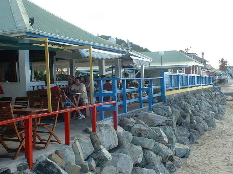 Lunch at Grand Case, St. Martin
