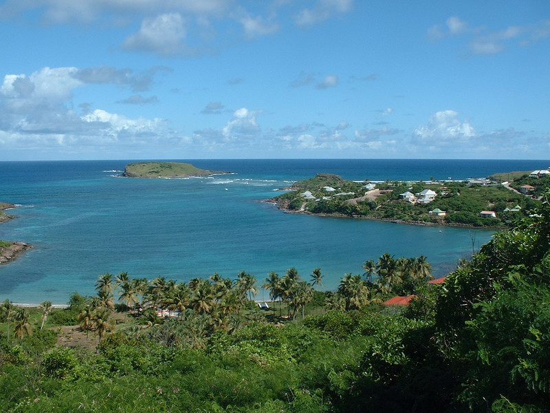 St. Barts - Atlantic and Caribean meet here