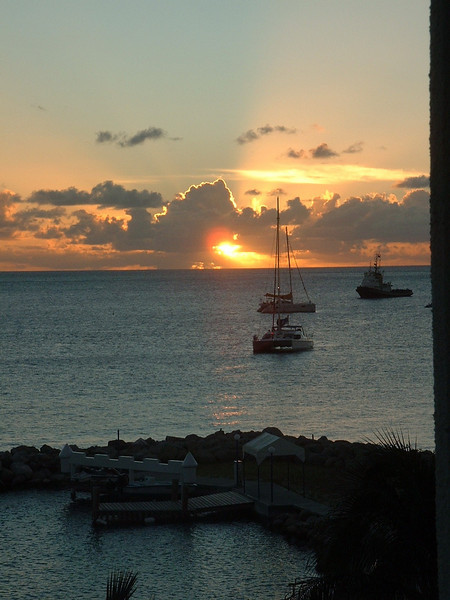Sunset at Royal Palm Beach Resort