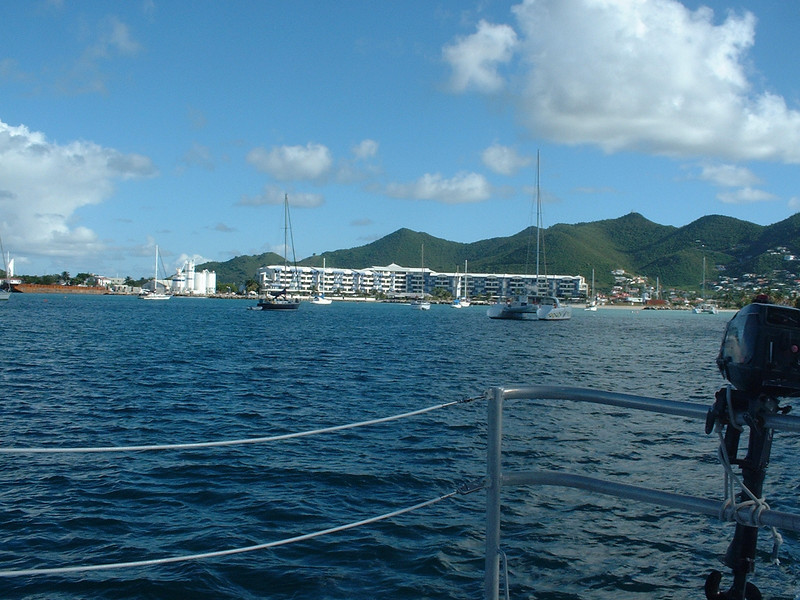 Departing St. Martin for St. Barts