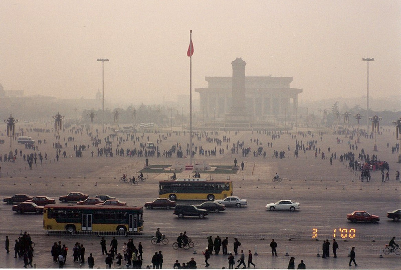 Tiananmen Square from Top of Meridian Gate