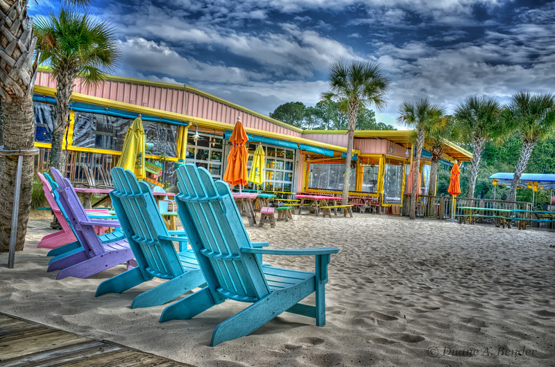 """March 3, 2012 - """"Off Season""""<br /> <br /> The exterior of a very popular restaurant in Gulf Shores, Alabama."""