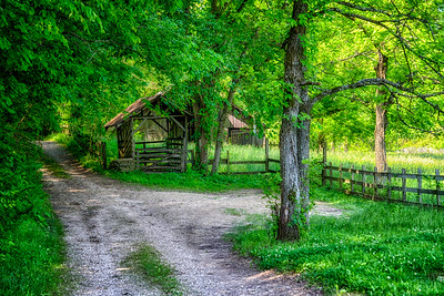 Ozark Country Road