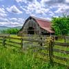 Barn In Springtime
