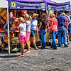 """Pas De Vente""<br /> <br /> No sale (in French) today for the lady leaving the Provence MarketPlace tent."