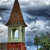 """Cloud City""<br /> <br /> The Leadville, Colorado  Presbyterian Church was dedicated in 1889.<br /> <br /> The ""Cloud City"" certainly provided me with many clouds to try different filter ideas.<br /> <br /> ""Leadville, Colorado, often called ""The Two Mile High City"" and ""Cloud City,"" was the highest incorporated city in the world at 10,430 feet. However, that title has now been replaced first by Alma, Colorado and then by Winter Park, Colorado. Located at the foot of two of Colorado's highest peaks - Mt. Elbert and Mt. Massive, Leadville is one of America's last remaining authentic mining towns.""<br /> from<br /> <br /> <a href=""http://www.legendsofamerica.com/CP-Leadville.html"">http://www.legendsofamerica.com/CP-Leadville.html</a>"