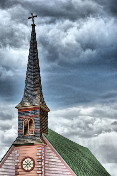 """The Old Rugged Cross""<br /> <br /> Photographed in Leadville, Colorado."