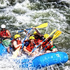 """Rafting The Arkansas""<br /> <br /> On our summer treks to Colorado, we have a favotie spot to stop and take photos of the whitewater rafters. This was shot along the Arkansas River in Colorado."