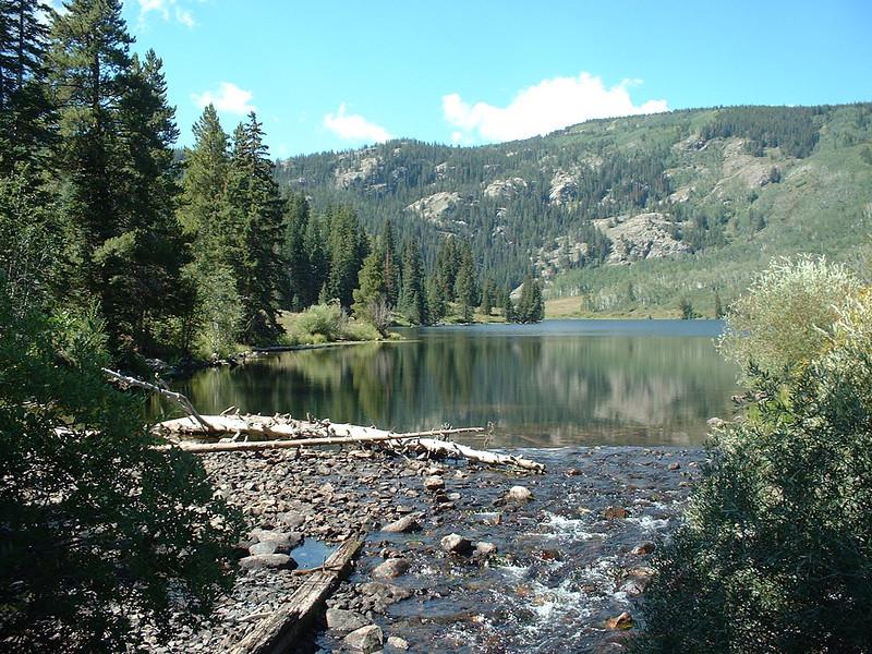 Catarack Lake, Colorado Lower Catarack Lake Trail