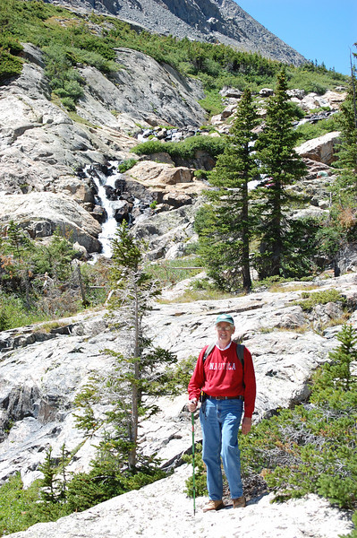 We need to get to the top of White Falls and the tree line