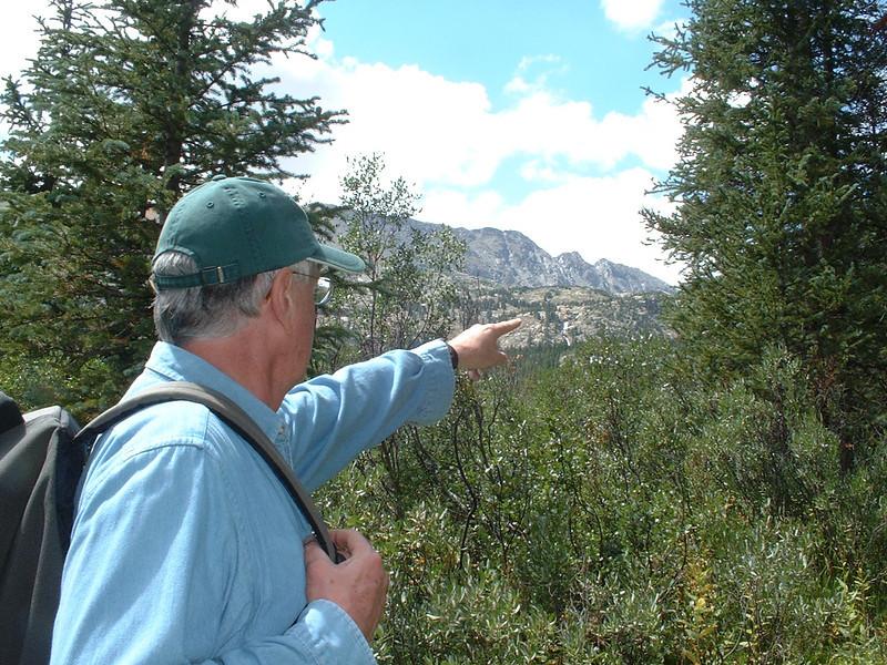 Mohawk Lakes Trail - We were at glacial lake above falls!