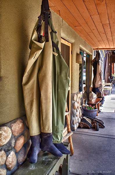 """September 14, 2011 - """"Drying Out""""<br /> <br /> Anybody for fly fishing in Colorado?"""