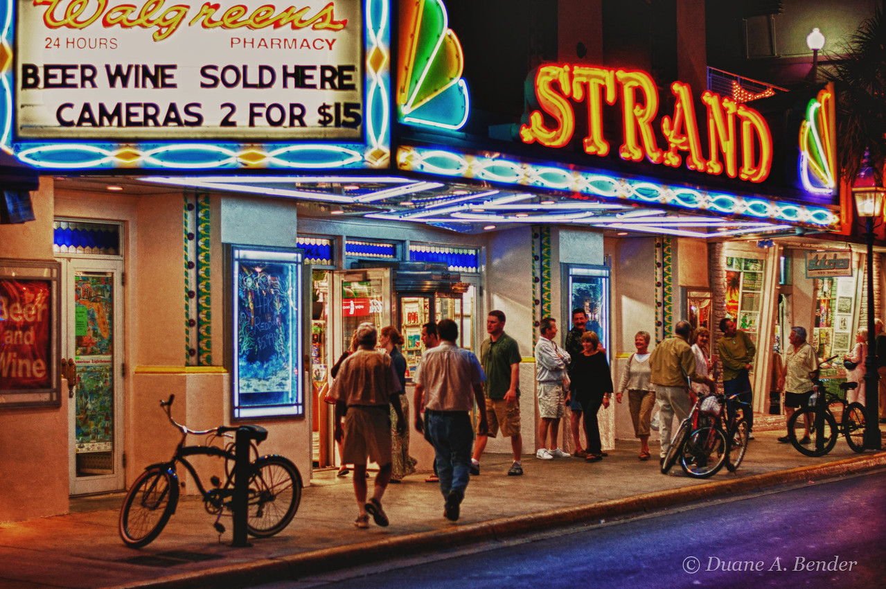 """March 6, 2011 - """"Walgreens Or The Strand""""<br /> <br /> The Strand was once a movie theater in Key West that seated over 800 people."""