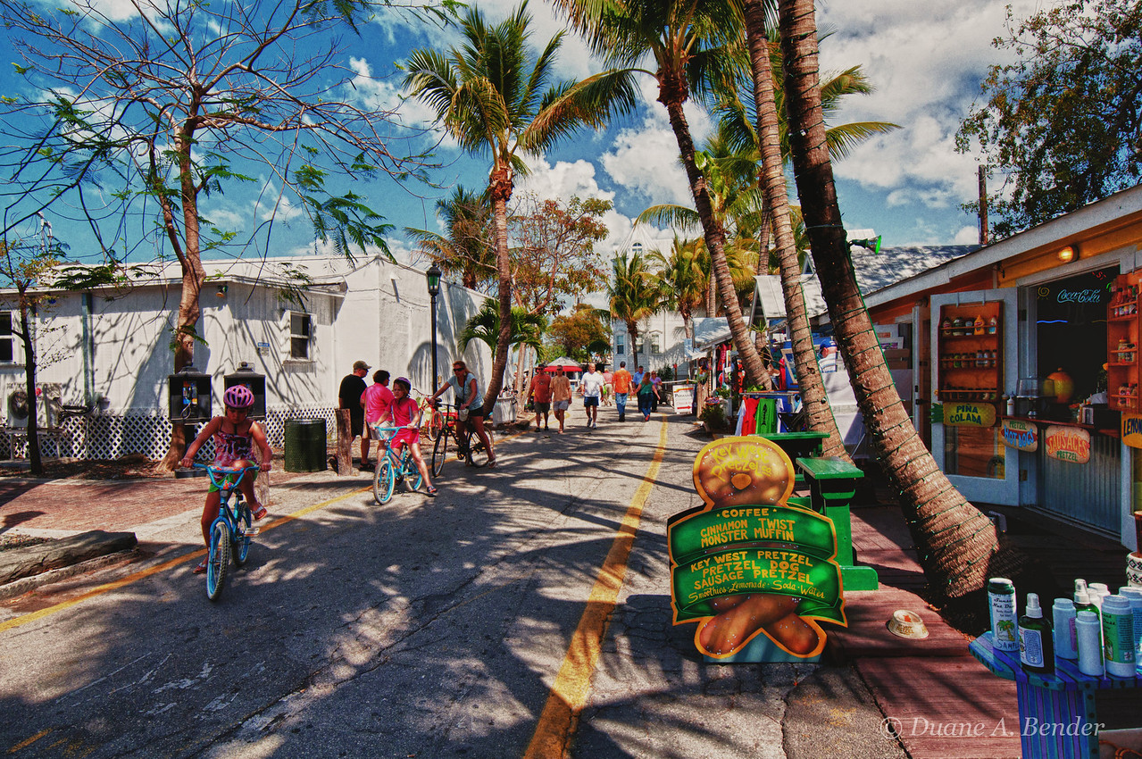 """February 24, 2011 - """"Colorful Key West""""<br /> <br /> This beautiful winter day image was captured last week."""