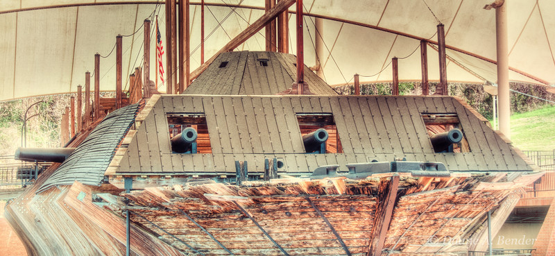 "February 21, 2012 - ""USS Cairo Gunboat""<br /> <br /> This Union gun boat was salvaged from the Yazoo River at Vicksburg, Mississippi and is now a museum at Vicksburg National Military Park.<br /> <br /> ""USS Cairo (pronounced /ˈkeɪroʊ/ was a City class ironclad gunboat constructed for the Union Navy by James B. Eads during the American Civil War. She was the first vessel of the City class ironclads, also called the Cairo class.  Cairo was the first ship sunk by a naval mine, on 12 December 1862 in the Yazoo River.""<br /> <a href=""http://en.wikipedia.org/wiki/USS_Cairo"">http://en.wikipedia.org/wiki/USS_Cairo</a><br /> <br /> My gallery of images from the Vicksburg National Military Park can viewed at<br /> <br /> <a href=""http://www.dakotacowboyphotography.com/Travel-USA/Missisippi/Vicksburg-National/21556094_rfMng9#!i=1719031907&k=QFRqwKQ"">http://www.dakotacowboyphotography.com/Travel-USA/Missisippi/Vicksburg-National/21556094_rfMng9#!i=1719031907&k=QFRqwKQ</a>"