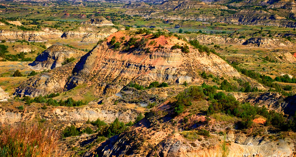 North Daklota Badlands