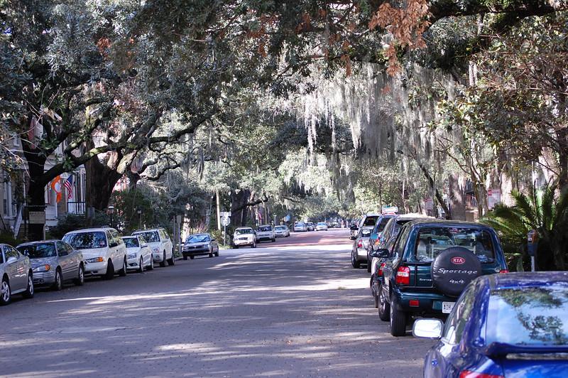 Typical Savannah Street
