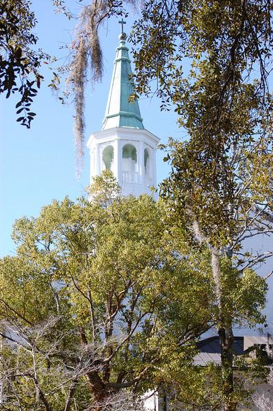 A walk through historic Beaufort, South Carolina<br /> Parish Church of St. Helena (Episcopal)