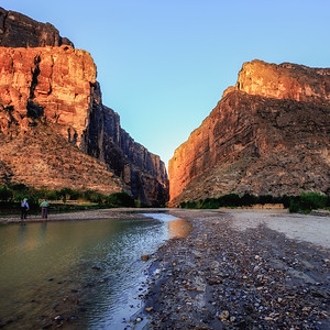 Morning At Santa Elena Canyon