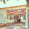 """June 13, 2011   - """"Ready For The 4th of July""""<br /> <br /> This should be my last gas station post from the Farmers Branch Historic Park.   I just happen to really like photographying old gas stations."""