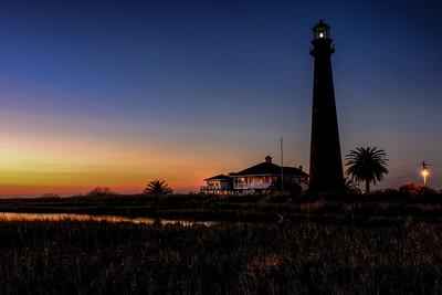 Lighthouse Twilight