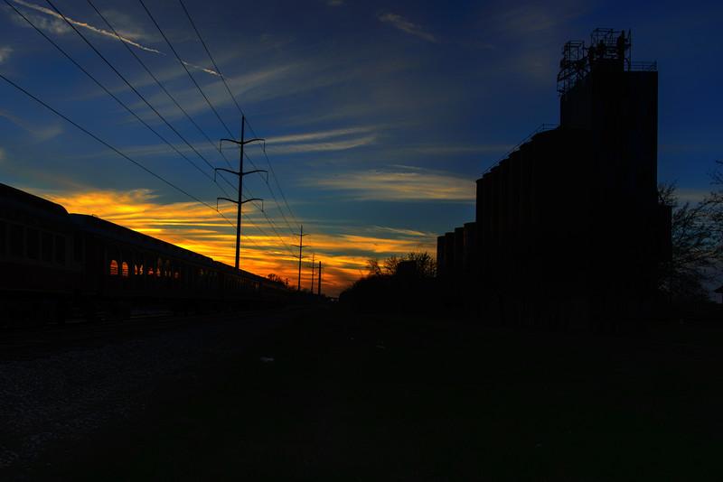 Grapevine Sunset