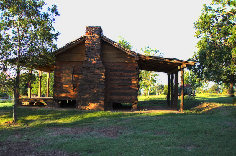 """""""Reconstructed Settlers Cabin"""""""