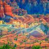 Morning Glow At Bryce Canyon
