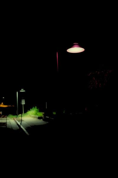 "October 17, 2011 - ""Solitude""<br /> <br /> Shot while waiting for the shuttle bus in Springdale, Utah."