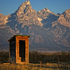 """Sunrise View And Time For A Break""<br /> <br /> this was shot at the Mormon Row Historic District near Jackson, Wyoming."