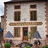 """September 3, 2010 - """"Reservations Suggested""""<br /> <br /> This was shot in the village of Chapaize in the south of the Burgundy.  The 11th century Saint Martin Chapel built in the Lombard style is across the road."""