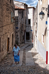 "October 18, 2010 - ""Morning Walk""  The French village of Viviers was part of the Roman Empire.  Many people have walked this street.  I was fortunate to be able to photograph Viviers at dusk, before breakfast and after breakfast.  Here's a gallery of photos taken after breakfast   http://www.dakotacowboyphotography.com/Travel/France/Viviers-Before-Lunch-2010/13438460_XdfZv#978057940_i4WJN"