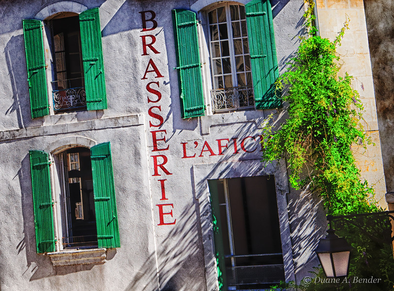 """April 13, 2012 - """"Volets Verts or Green Shutters""""<br /> <br /> The rest of my """"Streets Of Provence"""" series can be viewed at<br /> <br />  <a href=""""http://www.dakotacowboyphotography.com/Travel-World/France/Streets-Of-Provence/22361663_rnJp3c#!i=1787056914&k=5RCS83q"""">http://www.dakotacowboyphotography.com/Travel-World/France/Streets-Of-Provence/22361663_rnJp3c#!i=1787056914&k=5RCS83q</a>"""