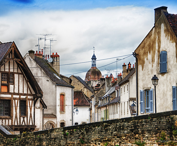 "April 15, 2012 - ""Old And New World Europe""<br /> <br /> - image is from my ""Streets of Burgundy"" series"