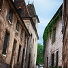 "April 14, 2012 - ""Narrow Road""<br /> <br /> This is the first of a ""Streets of Burgundy"" series shot in that Region of France.  Hopefully the style created reflects the difference in color and architecture from the ""Streets of Provence"" series presented the last few days."