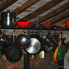 "January 4, 2011 - ""Pots And Pans""<br /> <br /> This was shot in a restored farmhouse kitchen in Italy.  I am updating the processing on a few images captured in Italy a few years ago.  I recently completed a series titled ""A Rainy Day In Italy"".   Potentially this next series will be titled ""A Cloudy Day In Italy"" for lack of more originality.<br /> <br /> My goal is to have photos that are printable and suitable for display at my home.  I am very happy with the prints that I have matted to date."