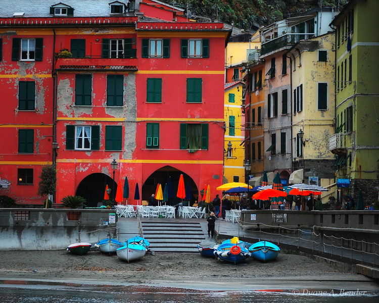 "December 28, 2010 - ""Riomaggiore Village Colors""<br /> <br /> This closes out my ""Rainy Day In Italy"" series.  I had a difficult time picking only this one from the remaining collection.  Additional images from the shoot are in the following gallery<br /> <br /> <a href=""http://dakotacowboy.smugmug.com/Travel-World/Italy/Rainy-Day-In-Italy/14970732_7cqtkm#!i=1129590165&k=KqUQt"">http://dakotacowboy.smugmug.com/Travel-World/Italy/Rainy-Day-In-Italy/14970732_7cqtkm#!i=1129590165&k=KqUQt</a>"