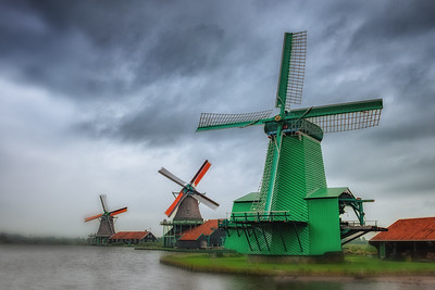 Tourist Windmills