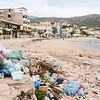 One of the problems with modern Albania is widespread trash.  This is supposed to be one of the better beaches at Himara but it's a risk of becoming a tip