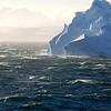 Big 'berg in the channel between Antarctica and the islands