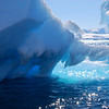 Sun on the ice at Portal Point