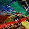 Prayer flags at Thimpu