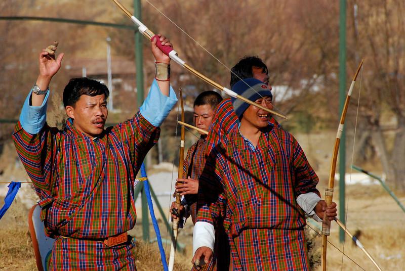 Archery-mad Bhutanese