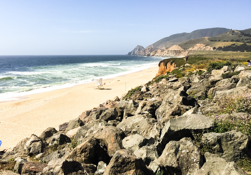 Beach near Big Sur