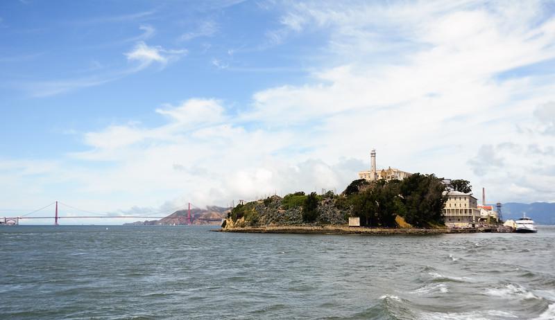 San Francisco Bay cheesy shot