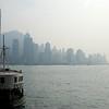 Star Ferry on a hazy morning