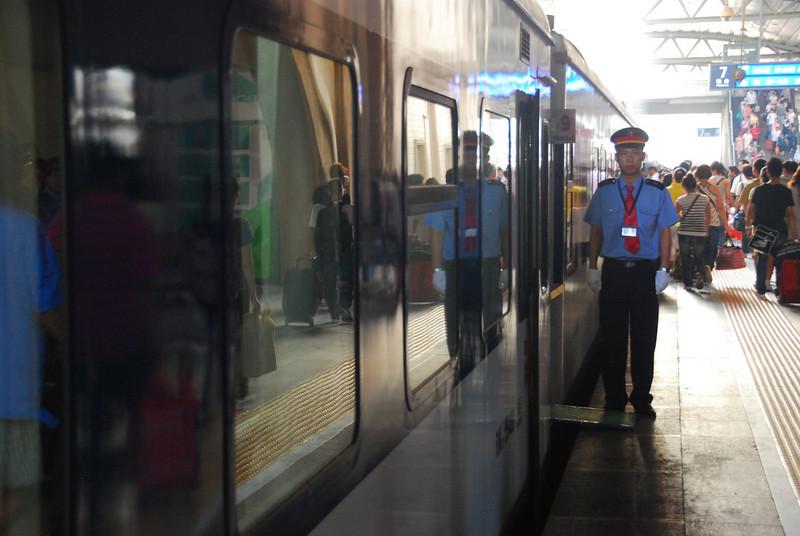 Train to Dandong