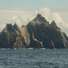 Skellig Michael's little twin is Lesser Skellig - hosting the second largest breeding colony of Northern Gannets in the world