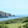 Sherkin Island and the open ocean