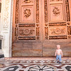 What a great door.  Asa found lots of doors very interesting.  The bigger the better
